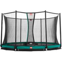 Berg Toys InGround Favorit 270 cm inkl. Sicherheitsnetz Comfort grün