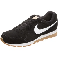 Nike Men's MD Runner 2 Suede black-white/ white-gum, 44