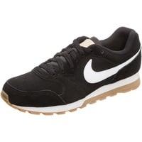 Nike Men's MD Runner 2 Suede black-white/ white-gum, 44