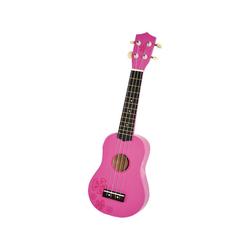 Voggenreiter Saiten Kindergitarre Holz Natur (Ukulele) 54 cm rosa