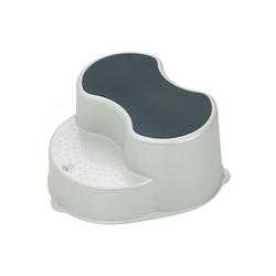 Rotho Babydesign Tritthocker Trittschemel Top, blue perl weiß