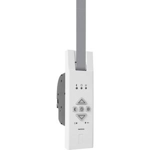Elektrischer Gurtwickler ATTAS MATOFIX für 23mm Gurtband, Unterputz, Zugkraft bis 45kg, feste Fahrtzeiten einstellbar, inkl. Netzstecker