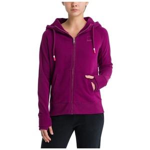 Sweatshirt BENCH - Her. Zip Through Sweat Hoody Plum Caspia (PU11461) Größe: S