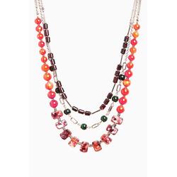 Next Gliederkette Mehrreihige Perlenkette