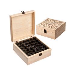 Gotui Kosmetikbox, 36 Fächer Aufbewahrungsbox für ätherische Öle