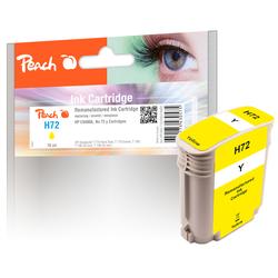 Peach Tintenpatrone gelb kompatibel zu HP No. 72 Y, C9400A