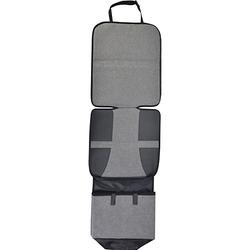 Autositzauflage mit Fußstütze grau