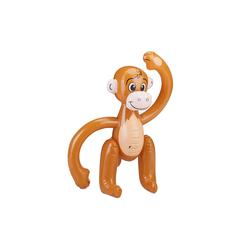 relaxdays Schwimmtier Affe aufblasbar