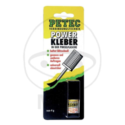 Petec Power Kleber 4g Pinselflasche