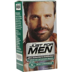 JUST for men Brush in Color Gel schwarzbraun 28 ml