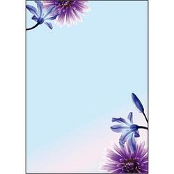 SIGEL Motivpapier Blue Emotion Motiv DIN A4 90 g/qm 50 Blatt