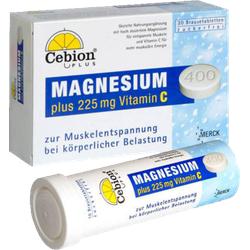 CEBION Plus Magnesium 400 Brausetabletten 20 St