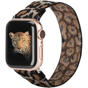 TOYOUTHS Nylon Geflochtenes Solo Loop Kompatibel mit Apple Watch Armband 38/40mm/42mm/44mm Sport Uhrenarmbänder Elastic Ersatzband für iWatch Serie 6/5/4/3/2/1,SE