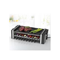 MAXXMEE Raclette Multi-Raclette-Grill 3in1 1200W, 6 Raclettepfännchen, 1200 W