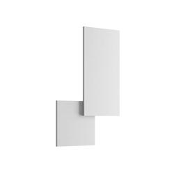 Puzzle Outdoor Square & Rectangle Wandleuchte - Matt Weiß