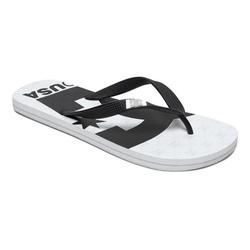 DC Shoes Spray Graffik Sandale weiß 10(43)