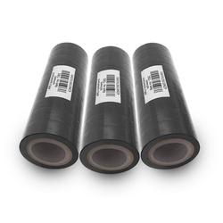 ARLI Klebeband Isolierband Isoband schwarz 10 m Klebeband Elektro Isolier Klebe Band für Handwerker Elektriker Auto KFZ (30-St)