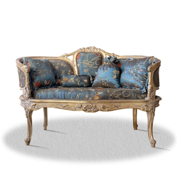 Casa Padrino Barock Sitzbank mit 4 Kissen 120 x 50 x H. 80 cm
