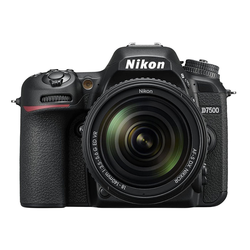 Nikon D7500 Kit AF-S DX 18-140mm f3.5-5.6G ED VR Spiegelreflexkamera