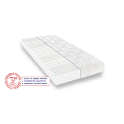 Matratzen Concord Komfortschaummatratze BeCo Sanalux Care 180x200 cm H2 - mittel bis 80 kg 19 cm hoch