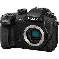 Lumix Panasonic DM-GH5EG-K Systemkamera-Body (20 MP, 20-MP-Sensor ohne Tiefpassfilter)