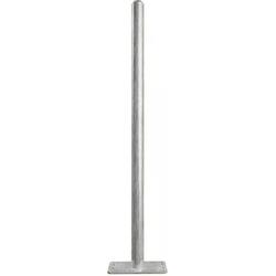 Patura Pfosten Durchmesser 76 mm Länge 185 m Bodenplatte 200x200 mm für Sauberkeitsschicht 303495