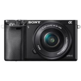 Sony Alpha 6000 schwarz + 16-50 mm PZ OSS