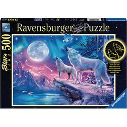 RAVENSBURGER Wolf im Nordlicht Puzzle Mehrfarbig