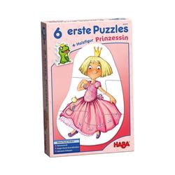 Haba Puzzle 6 erste Puzzles - Prinzessin, Puzzleteile
