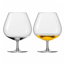 Eisch Cognacglas Schwenker 2er Set Jeunesse 830 ml, Kristallglas beige