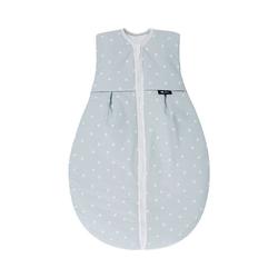Alvi® Babyschlafsack Schlafsack Thermo,Shell blau, 70 cm 80