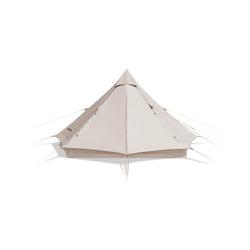 Naturehike Firstzelt Campingzelt wasserdicht, Firstzelte Zelt 8-Sided, Pyramidenzelt für Familien, 350 x 350 x 210 cm