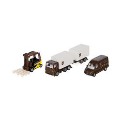Siku Spielzeug-Auto UPS Logistik Set