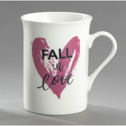 Kaffeebecher FALL IN LOVE Casa Nova