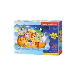 Castorland Puzzle Bodenpuzzle 20 Teile Maxi - Arche Noah, Puzzleteile