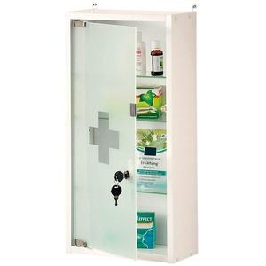 KESPER 78601 Medizinschrank verschließbar, 28 x 57 x 12 cm