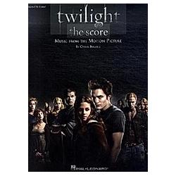 Twilight - The Score  Big Note Piano. Carter Burwell  - Buch