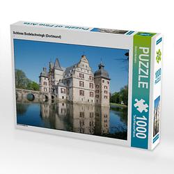 Schloss Bodelschwingh (Dortmund) Lege-Größe 64 x 48 cm Foto-Puzzle Bild von Bernd Hermann Puzzle