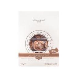 Weiche Amaretti mit Kakao