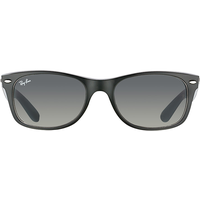 Ray Ban New Wayfarer RB2132 55mm black on opal ice / grey gradient