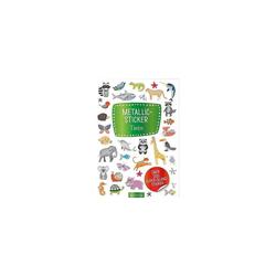 arsEdition Verlag Sticker Metallic-Sticker Tiere