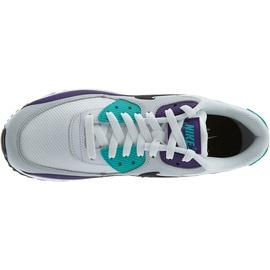 Nike Men's Air Max 90 Essential white-violett/ white, 44