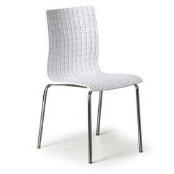 Stuhl mezzo, weiß