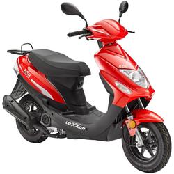 Luxxon Motorroller Eco, 49 ccm, 45 km/h, Euro 4 rot