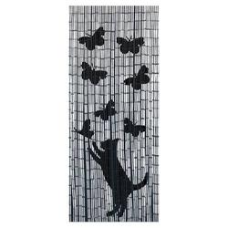 Wenko Bambusvorhang Katze und Schmetterling 5123004800