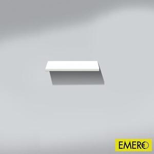 Burgbad Bel Wandablage B: 40 H: 2,5 T: 15 cm Korpus weiß hochglänzend WAAI040F0590