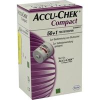 Roche Accu-Chek Compact Teststreifen