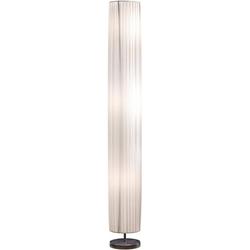 SalesFever Stehlampe Leah, Plissee Lampenschirm aus Latex