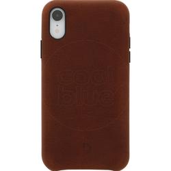 Dekodiertes Leder Apple iPhone Xr Rückseite Brown