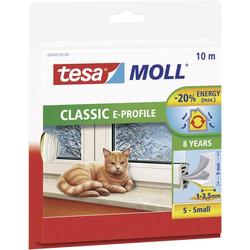TESA 05445-100 05445-100 Dichtband tesamoll® Weiß (L x B) 10m x 9mm 10m